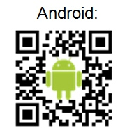 QR Code für unsere Kanzlei App für den Playstore